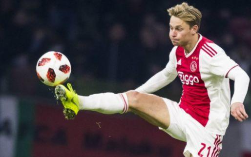 Afbeelding: 'Delegatie onderweg naar Amsterdam: Barcelona wil transfer De Jong snel afronden'