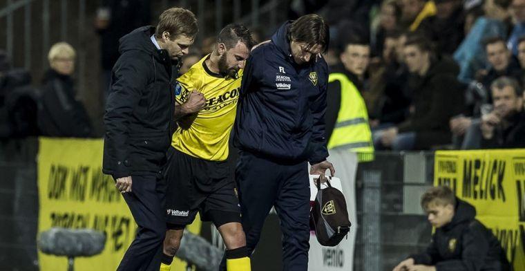 VVV'er geschorst na 'onbewust trap in kruis': 'Vier wedstrijden echt te fors'