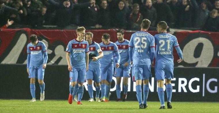 Twente lijstaanvoerder in de Keuken Kampioen Divisie na driepunter in Almere