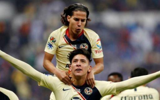 Afbeelding: 'Ik probeerde Lainez over te halen om voor Ajax te kiezen, hij past daar heel erg'