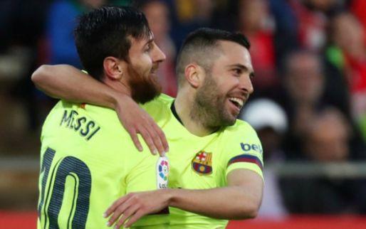 Afbeelding: Barcelona dendert door in Spanje: briljant moment Messi hoogtepunt bij zege