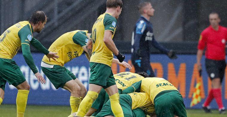 Slap Vitesse verliest in blessuretijd van Fortuna door wondergoal Stokkers