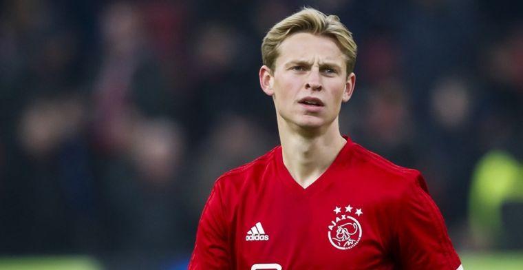 Silooy claimt aandeel in Ajax-transfer Frenkie de Jong: 'Ik hoef de credits niet'
