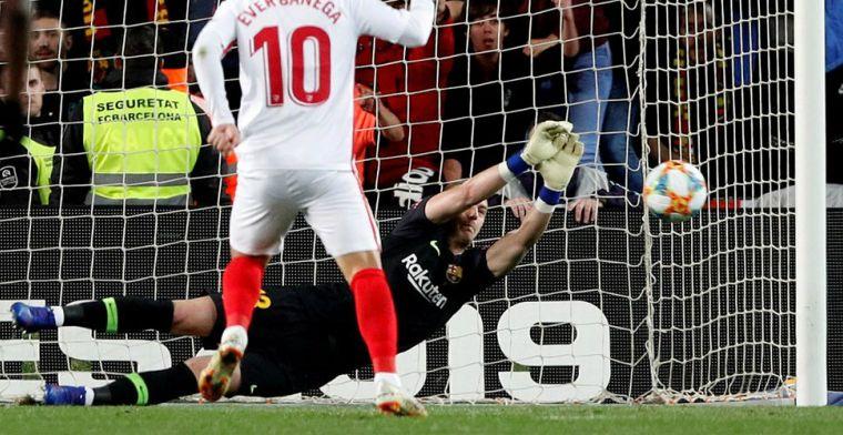 FC Barcelona maakt remontada tegen Sevilla compleet met sterke Cillessen