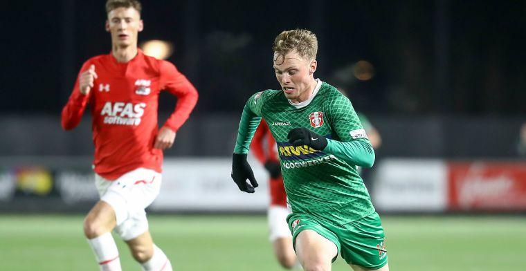 'Wil graag de stap maken naar de Eredivisie en wie weet ook de nationale ploeg'