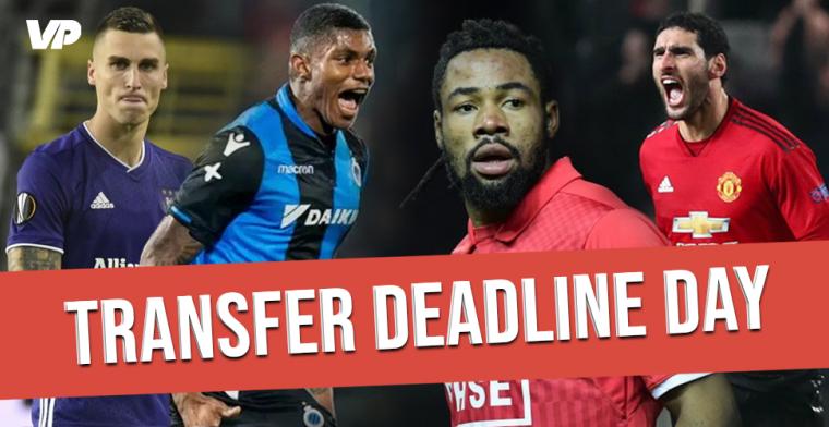 LIVE: Transfer Deadline Day, volg het transfernieuws uit binnen- en buitenland