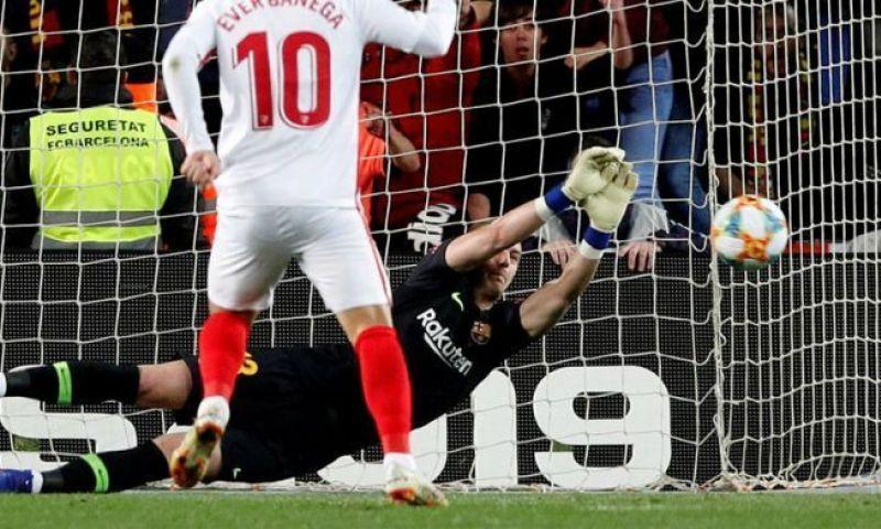 Afbeelding: Dreun voor Cillessen: doelman mist dubbele ontmoeting met Real Madrid