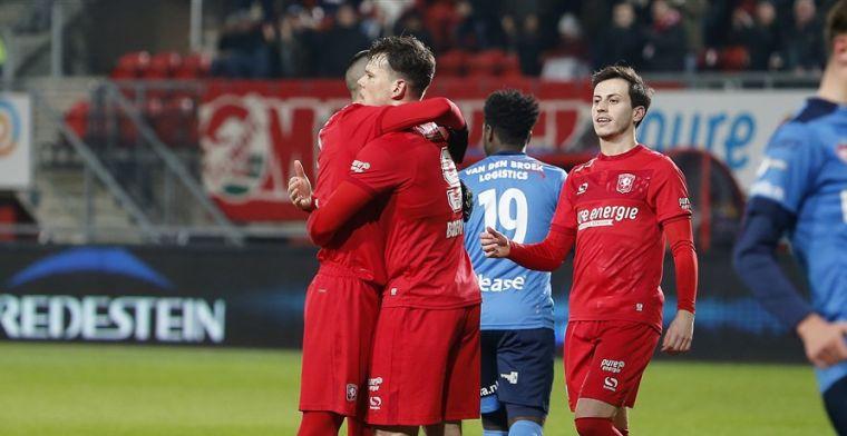 Koploper FC Twente loopt verder uit door puntenverlies van concurrentie