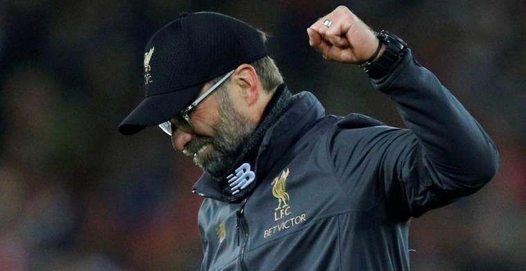 Klopp begrijpt City-verdediger niet na tweet: 'Nooit puntenverlies rivaal gevierd'