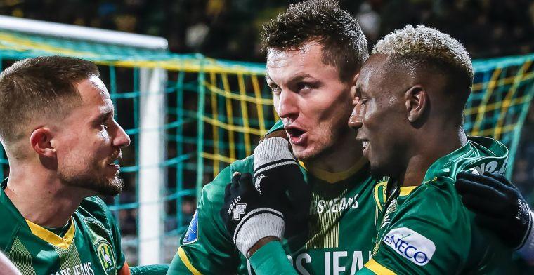 ADO slaat toe in Haag kwartiertje en bezorgt zwalkend Heracles nieuwe nederlaag