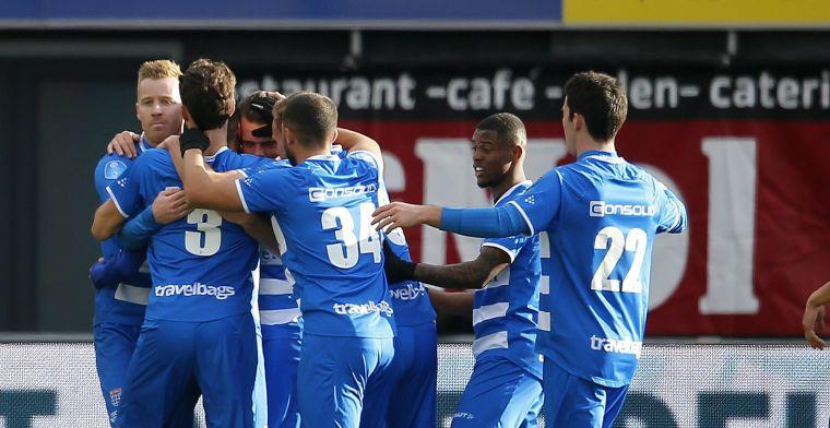 Spektakelstuk in Zwolle: Utrecht verspeelt 3-1 voorsprong en verliest van PEC