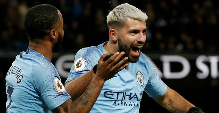 Agüero gidst Manchester City met tiende Premier League-hattrick langs Arsenal