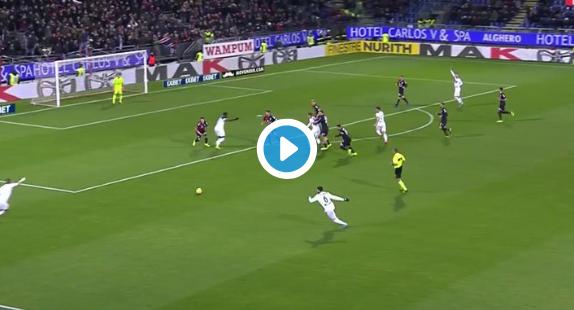 GOAL: Na twee goals laat Castagne nu ook eerste assist in Serie A optekenen