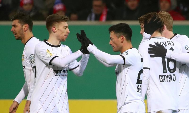 Afbeelding: Bosz en Leverkusen weer terug op aarde na afgang in bekertoernooi