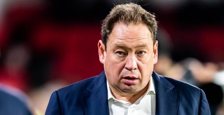 Slutsky relativeert na nieuwe Vitesse-domper: 'Anders waren jullie hier niet'