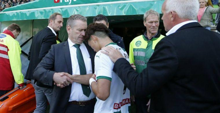 Nijland laat FC Groningen niet helemaal los: 'Blijf altijd voor hem beschikbaar'