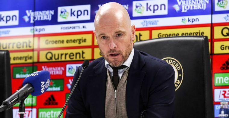 Ten Hag eens met PSV-collega Van Bommel: We moeten een regeling treffen