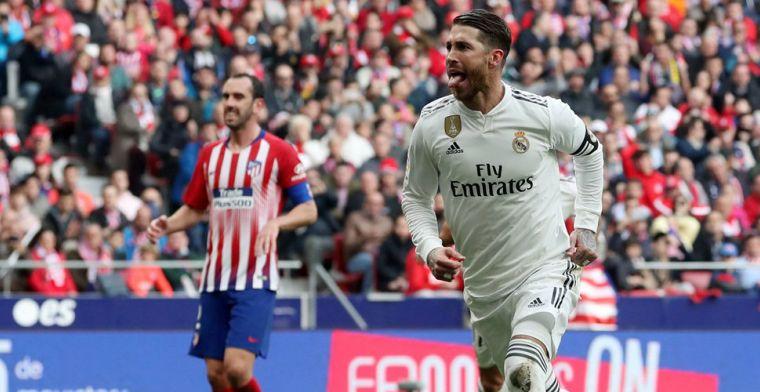 Courtois laat zich niet uit lood slaan en wint derby met Real tegen Atlético