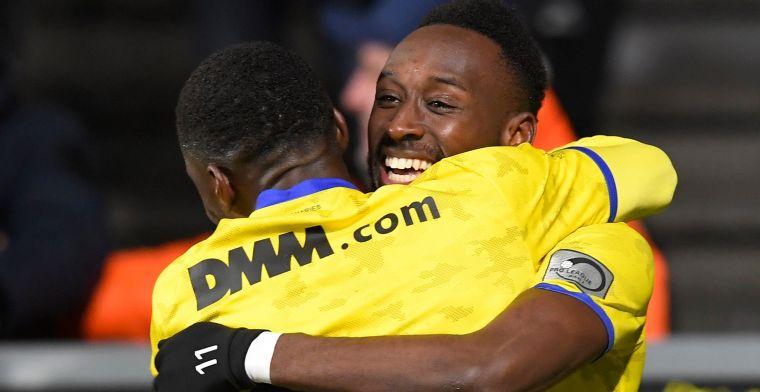 Gent en Anderlecht mogen beginnen te zweten, STVV verslaat Waasland-Beveren