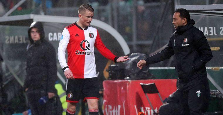 Feyenoord 'weer in een moeilijke positie': 'Dat gebeurt ons dit seizoen te vaak'