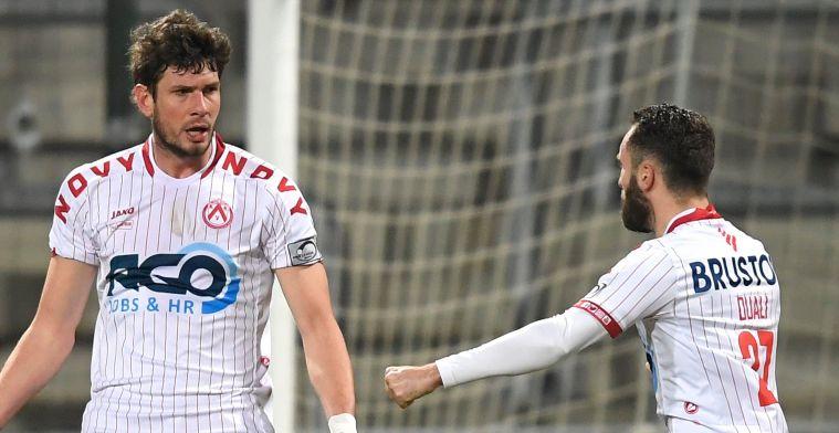 Kortrijk mag na zege tegen Eupen blijven dromen van Play-Off 1
