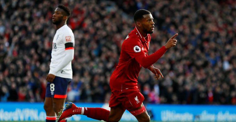 Liverpool heeft koppositie na drie dagen weer terug: Wijnaldum grijpt hoofdrol