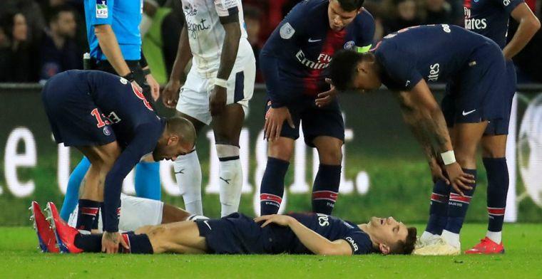 PSG boekt krappe zege, maar ziet Meunier uitvallen voor United-treffen