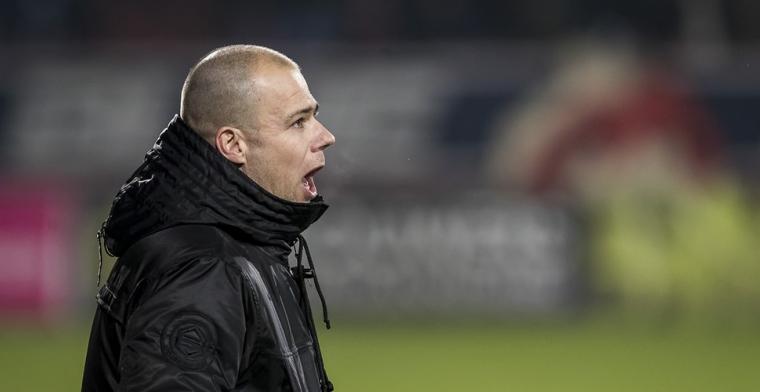 Buijs neemt Doan apart bij FC Groningen: We gaan nog even zitten