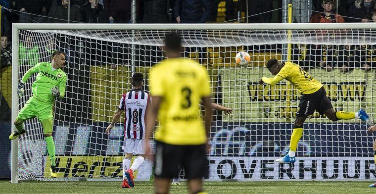 Jubileumtreffer tevergeefs voor Willem II: VVV stevent op play-offs af