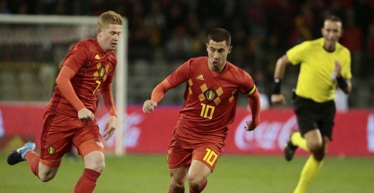 Hazard versus De Bruyne: Rode Duivels zorgen voor spannende topper!