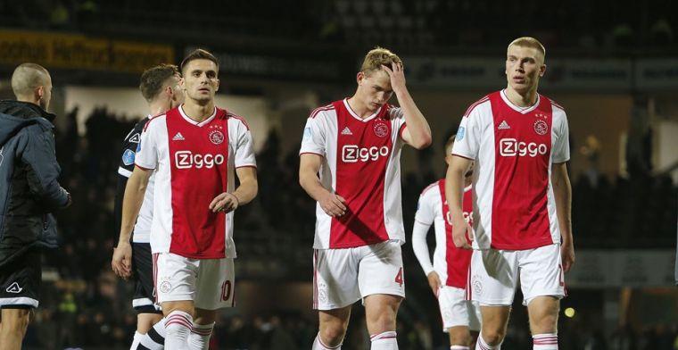 Ajax heeft een 'enorm probleem': 'Het zijn gewoon elf bv'tjes, er is geen eenheid'