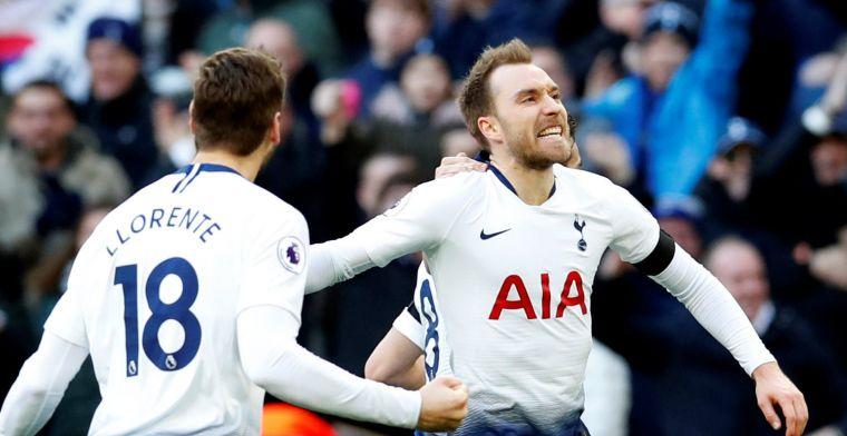 Hoofdrollen voor scorende Sánchez, Eriksen en Vardy op Wembley: Spurs wint wéér