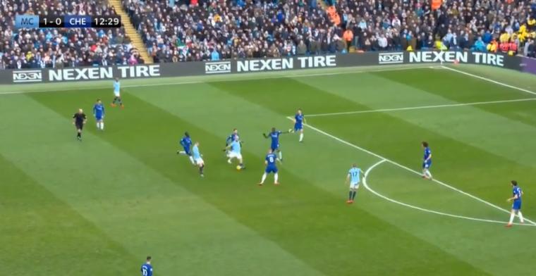 Man City blaast Chelsea weg: 2-0 Agüero na 13 minuten met wereldgoal