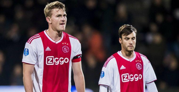 'Ajax heeft er weleens slechter voor gestaan, maar dat heeft nu geen zin'
