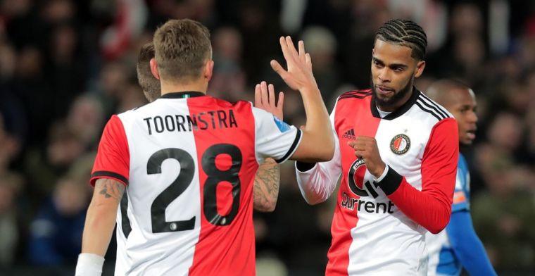 Feyenoorders richten vizier op Ajax: 'Je loopt weer drie punten in'