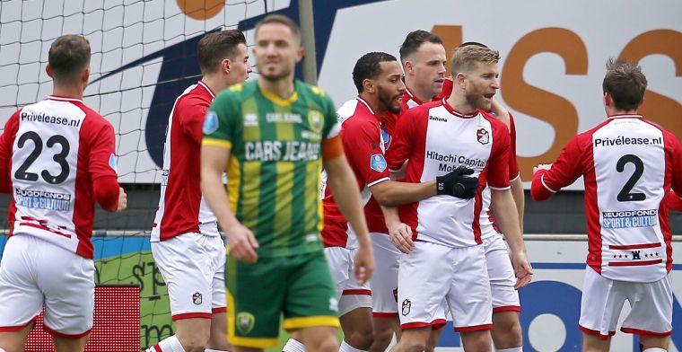 FC Emmen pakt volle buit na Haagse comeback en grandioze pegel van Jansen