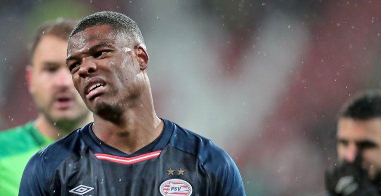 PSV en Dumfries ontsnappen: Ik doe het dus niet met opzet