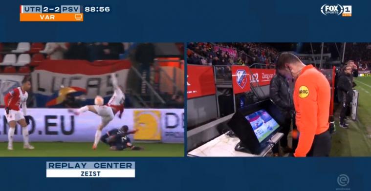 Hoofdrol voor VAR bij Utrecht - PSV: 'Met deze officials nog geen 6 cent waard'