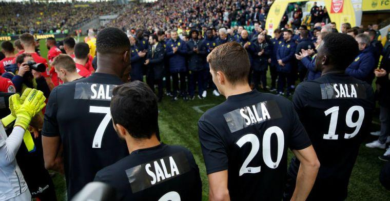 FC Nantes staat op indrukwekkende wijze stil bij overlijden Sala (28)