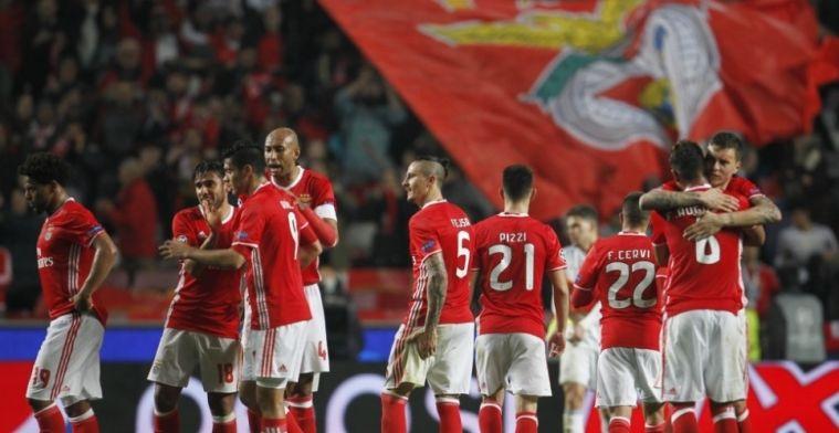 Benfica zet tienklapper (!) neer, Memphis en Tete verliezen, comeback Promes