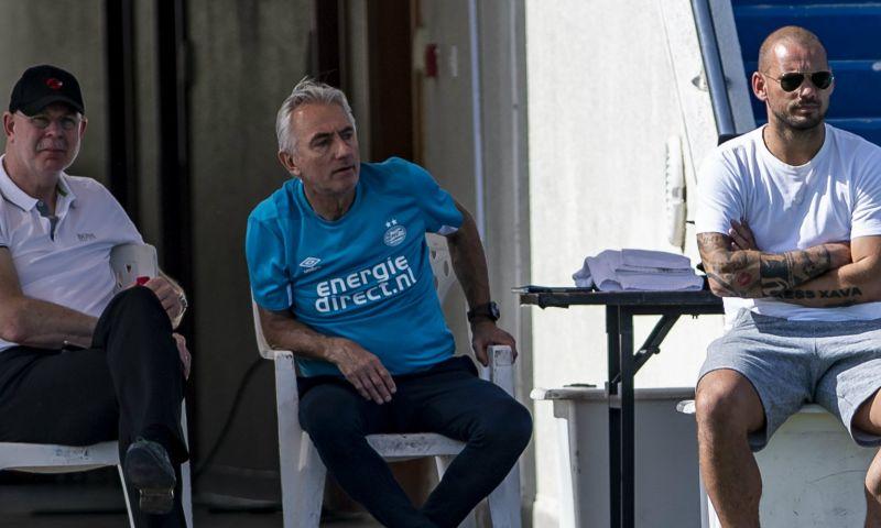 Afbeelding: Domper voor Sneijder: recordinternational niet ingeschreven voor Champions League