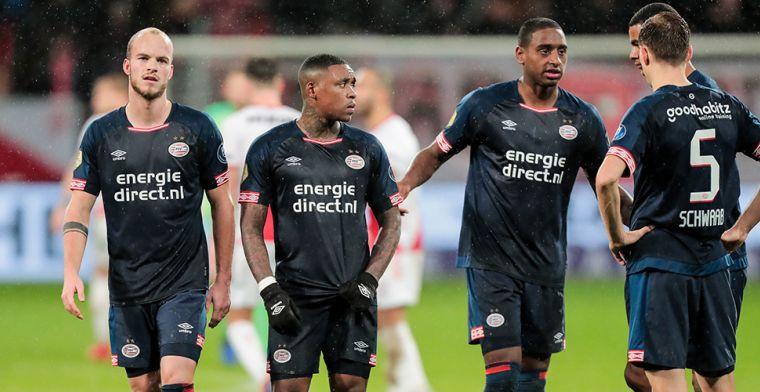 Kranten over PSV: 'De Jong klaagde, maar was ook enorm belangrijk'