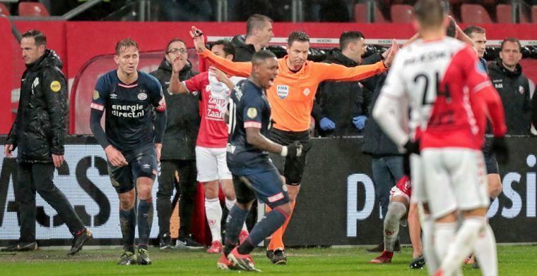 Letschert kraakt arbitrage na 'PSV': 'Een comedy, fout op fout, op fout'