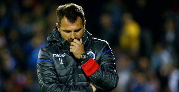 """Leko ziet krediet afbrokkelen: """"Mijn moeilijkste periode als trainer van Club"""""""