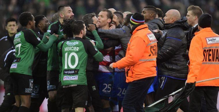 Brugse derby verdeelt: 'Dit gebeurt tot kinderachtig gedrag'