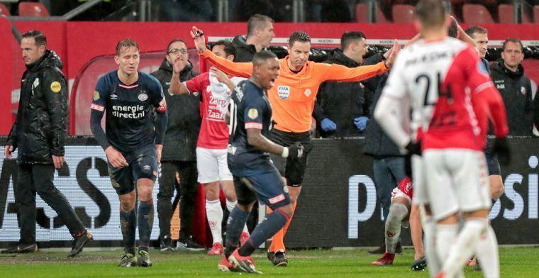 Van Egmond reageert op kritiek na Utrecht-PSV: 'Daarna met z'n allen in de war'