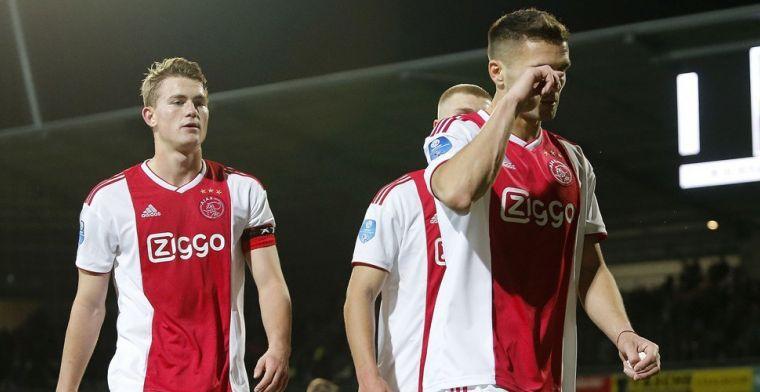 Onrust in Ajax-kleedkamer: 'Zij vinden dat De Ligt geen aanvoerder kan zijn'