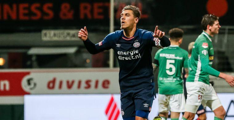 Goalgetter 'gaat lekker' en droomt van PSV 1: 'Van Bommel kent mij'
