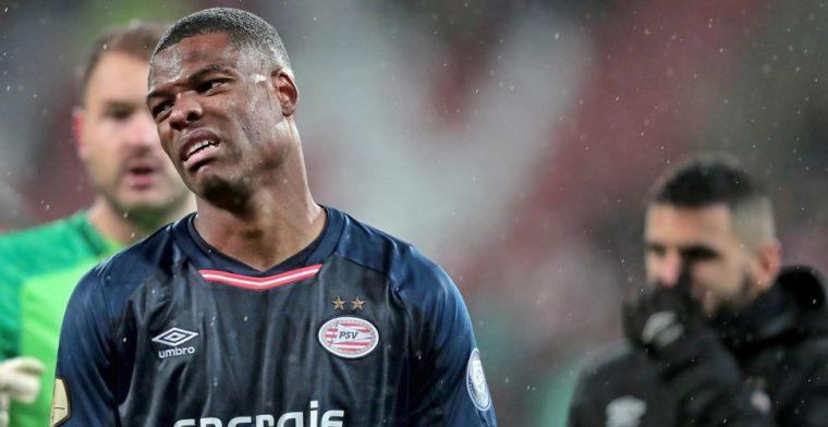 Opluchting bij PSV: Dan schrik je, maar gelukkig gaf 'ie geen penalty