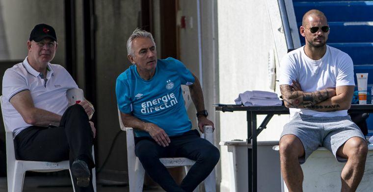 Domper voor Sneijder: recordinternational niet ingeschreven voor Champions League